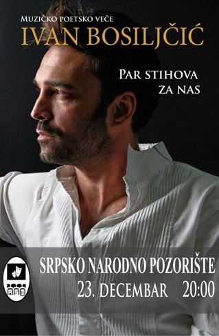Par stihova za nas, Ivan Bosiljčić