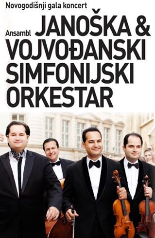 Novogodišnji gala koncert - Ansambl Janoška i Vojvođanski simfonijski orkestar