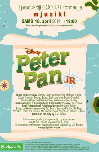 Peter Pan Jr    Bilet