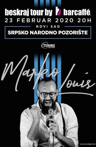 Beskraj Tour by Barcaffe - Solistički koncert Marko Louis